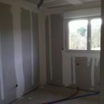 chantier intérieur maison bois Coulounieix Chamiers