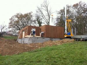 chantier maison perigord maisons bois, constructeur de maisons individuelles, maison en bois, rt 2012