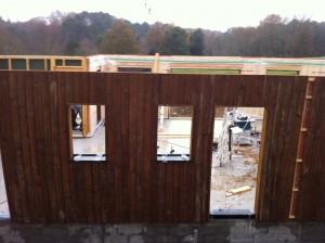 chantier maison bois Coulounieix Chamiers