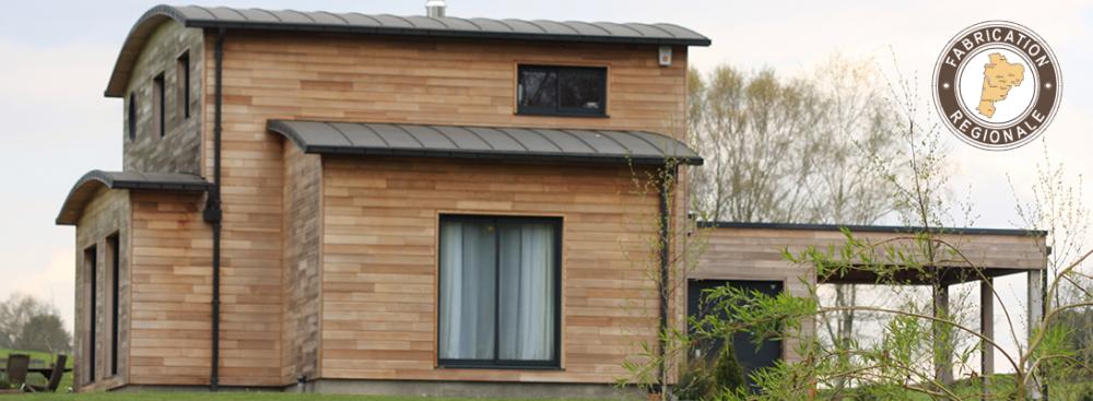 Constructeur de maison bois individuelle maison bois for Constructeur de maison sarlat