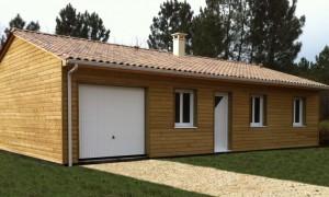 Maison bois FAUVETTE
