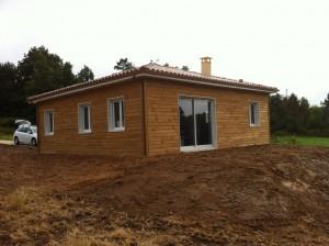 Cuzance-sarlat-maison neuve-constructeur de maisons individuelles-maison bois-maison ossature bois-chalet-perigord maison bois