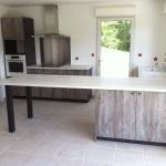 Finissions chantier maison bois Coulounieix Chamiers