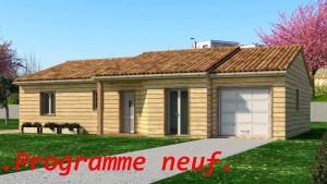 Terrain plus maison bois Chancelade en Dordogne