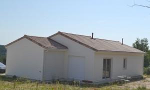 Maison bois secteur Brantôme