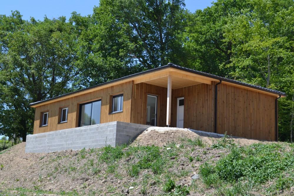 Maisons Bois secteur Périgueux maison perigord maisons bois, constructeur de maisons individuelles, maison en bois, rt 2012