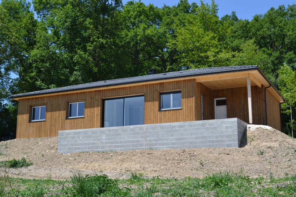 Maison bois caryota p rigord maisons bois for Loi pope isolation garage