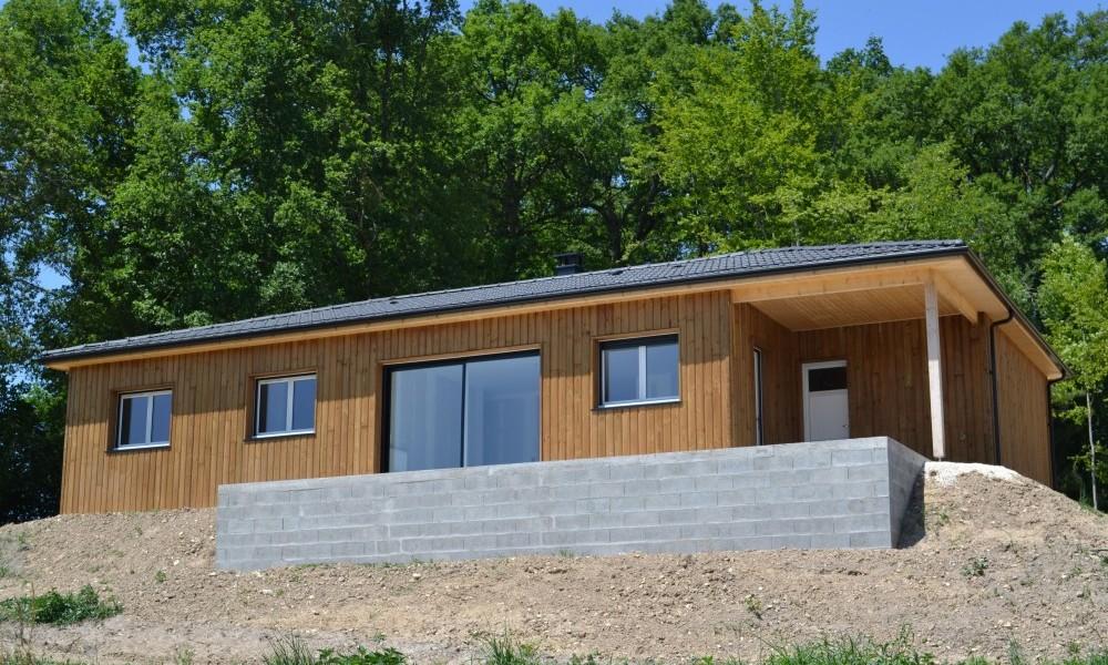 Maison Bois secteur Périgueux maison perigord maisons bois, constructeur de maisons individuelles, maison en bois, rt 2012