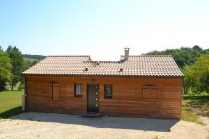 Maison bois modèle Hirondelle secteur Périgueux