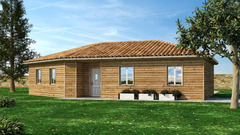 La chapelle gonaguet terrain maison p rigord maisons bois - Coupe de bois de chauffage sur pied a vendre ...