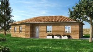 maison bois à vendre La Chapelle Gonaguet en Dordogne