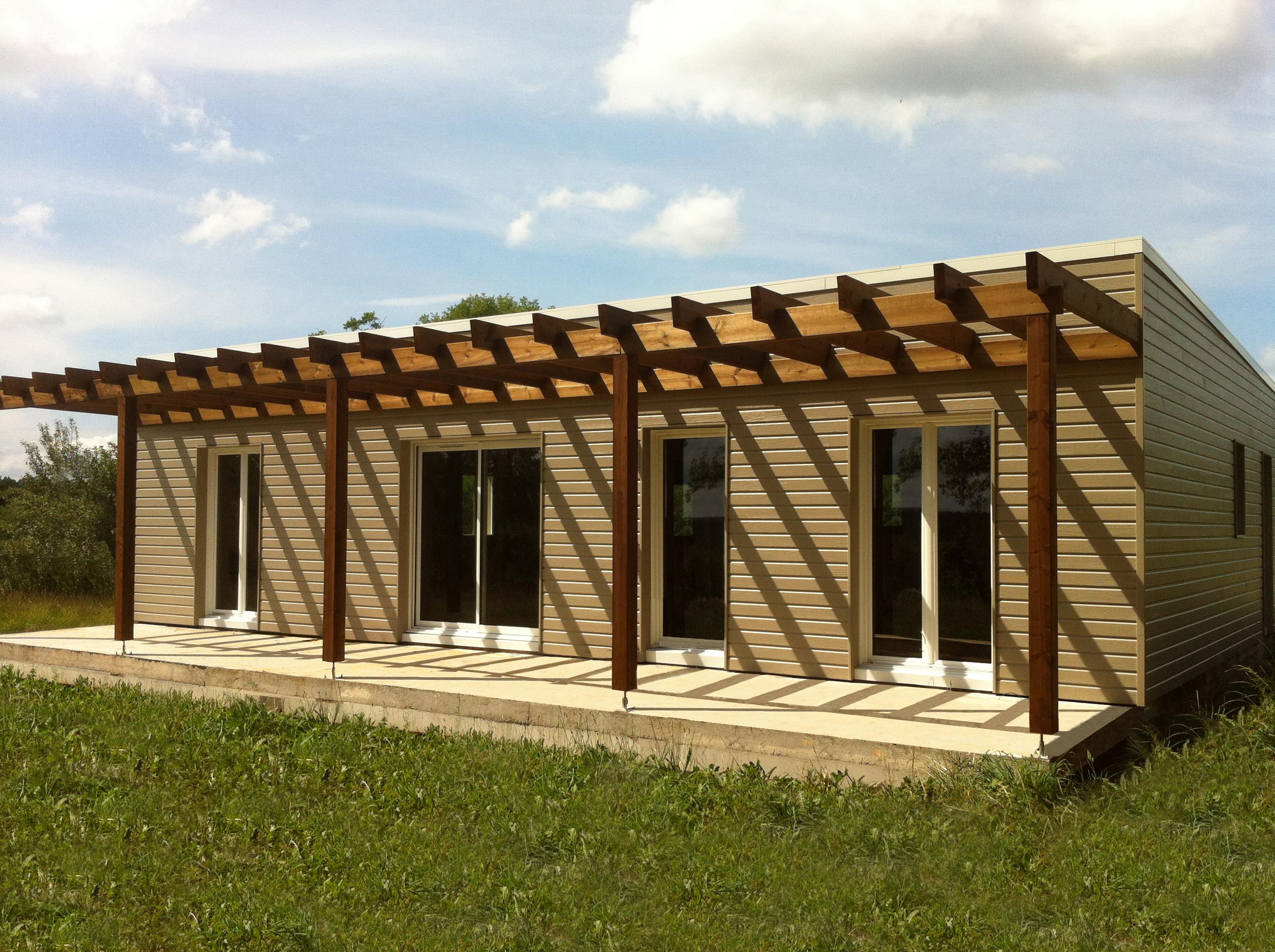 Maison bois secteur sarlat maison perigord maisons bois for Constructeur de maison sarlat