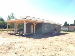 le vigan-sarlat-maison-maison ossature bois-périgord maisons bois-maison neuve-maison à construire-terrain- terrain+maison