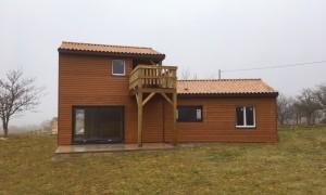 Maisons bois construite à Archignac