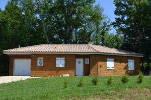 Maison bois ombrette