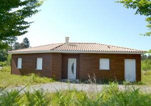 Maison bois Cormoran
