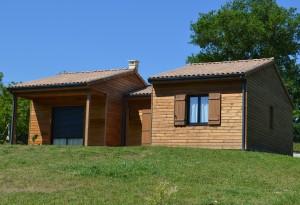 Maison bois Hirondelle