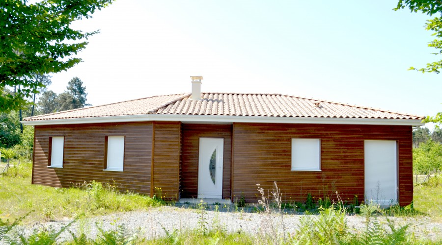 Plan Maison bois CORMORAN