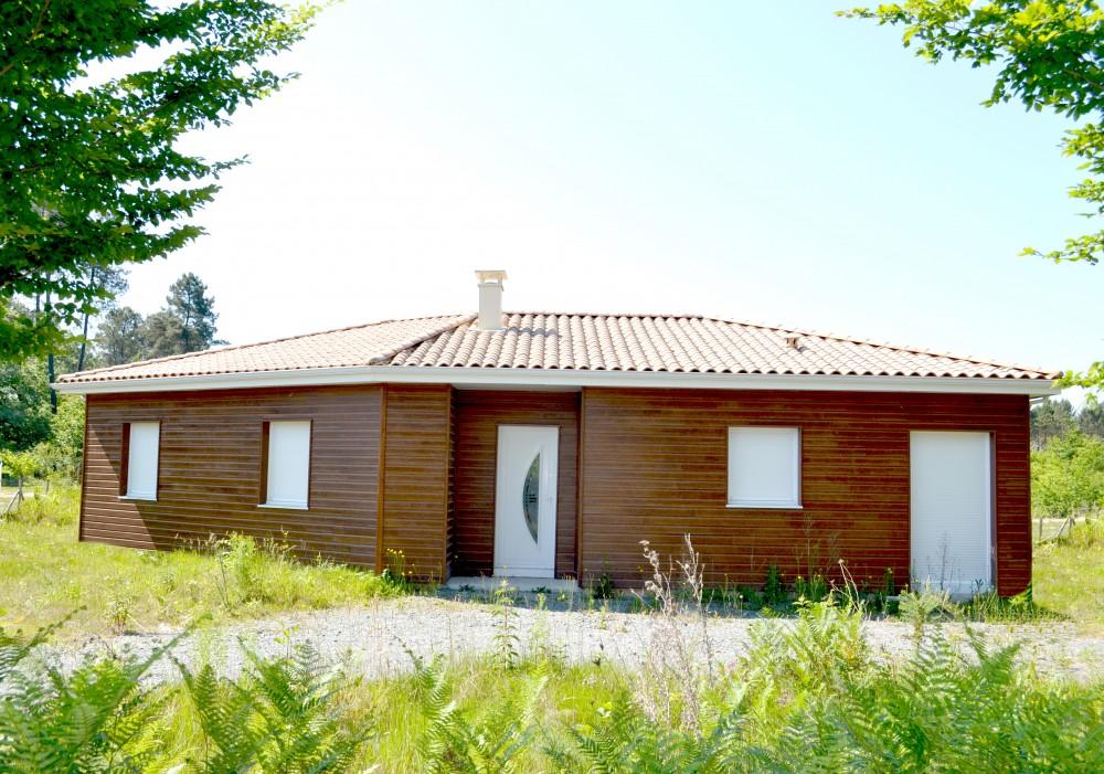 plan maison bois cormoran p rigord maisons bois. Black Bedroom Furniture Sets. Home Design Ideas