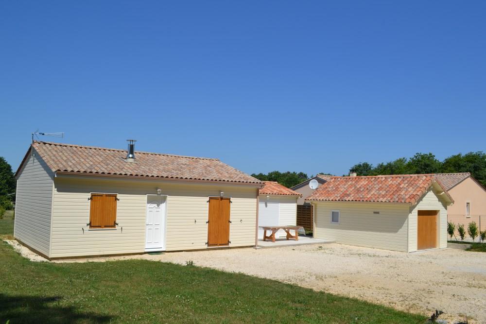 Maison bois secteur p rigueux constructeur maisons for Maison perigueux