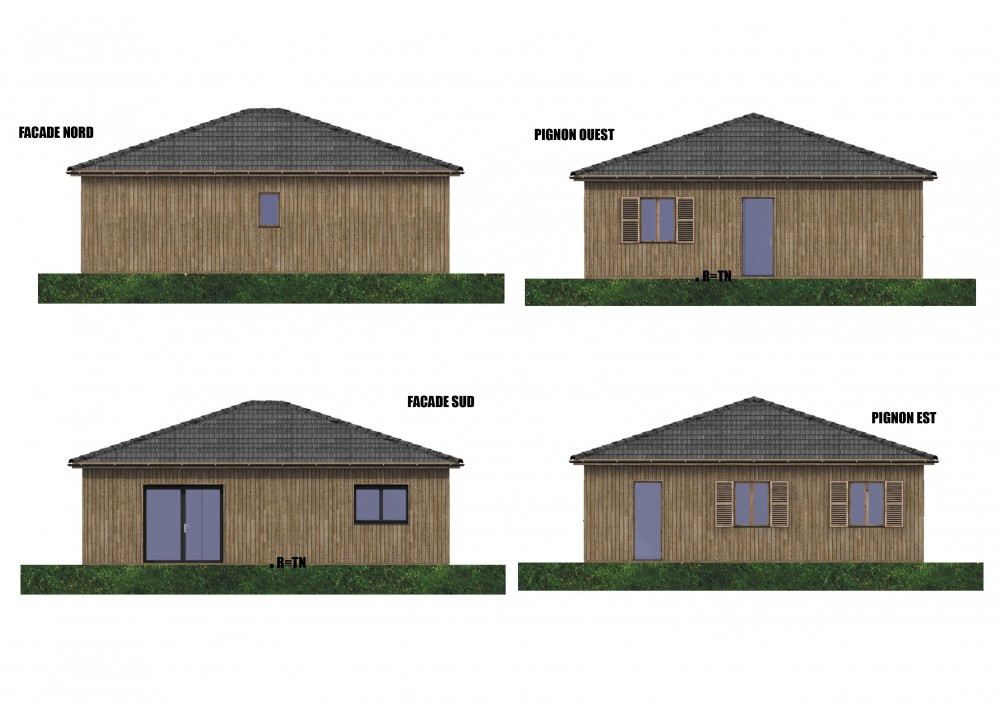 Constructeur maison bois sud ouest ventana blog for Constructeur de maison en bois 33