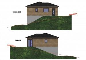 facade maison bois Mesange