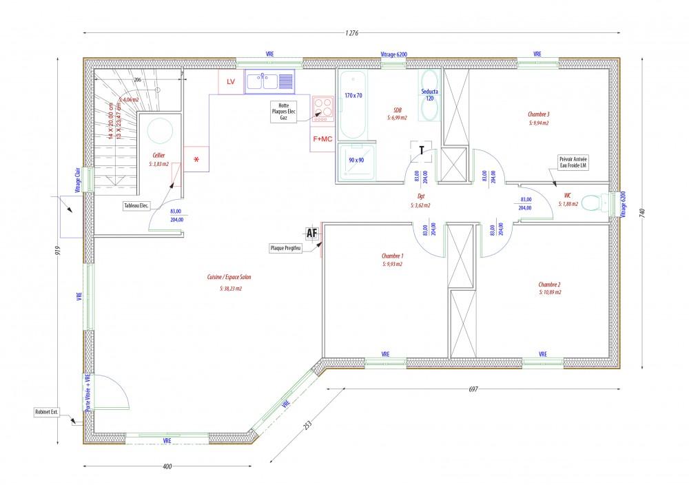 PC LABOUTADE-AUBY. maison perigord maisons bois, constructeur de maisons individuelles, maison en bois, rt 2012