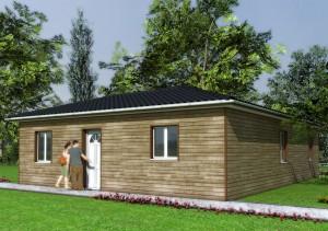 Maison bois Ibis