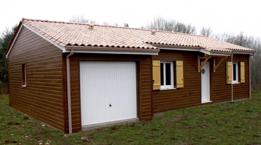 Plan maison bois FIGUIER