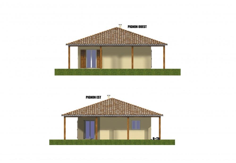 facades pour maison bois pas chere, constructeur de maisons individuelles, maison en bois, rt 2012