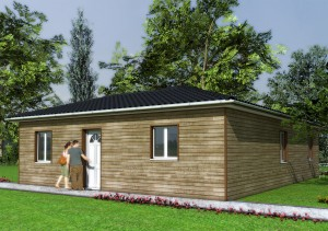 périgord maison bois Pc Laboutade-auby