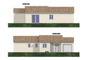 Maison Bois COLOMBE PERIGORD MAISONS BOIS Ce modèle de maison aux normes RT 2012 a été crée par notre société pour un client.