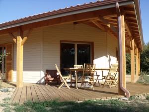 Maison bois Rossignol secteur Périgueux