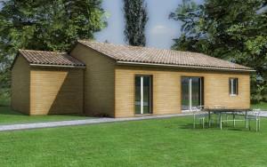 Maison bois Kiwi