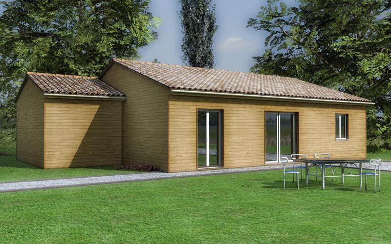 Plan maison bois kiwi le prix propos par notre formule for Le prix des maisons
