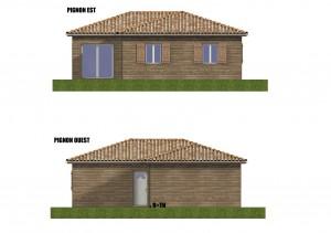 Facades maison bois Goeland