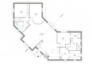 Plan maison rouge Gorge