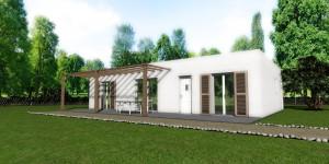 Maison bois Dryade