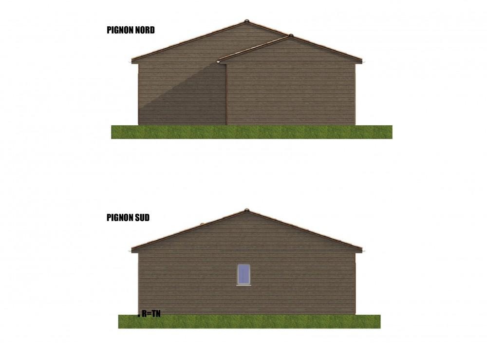 Plan maison bois kiwi le prix propos par notre formule for Garage formule m