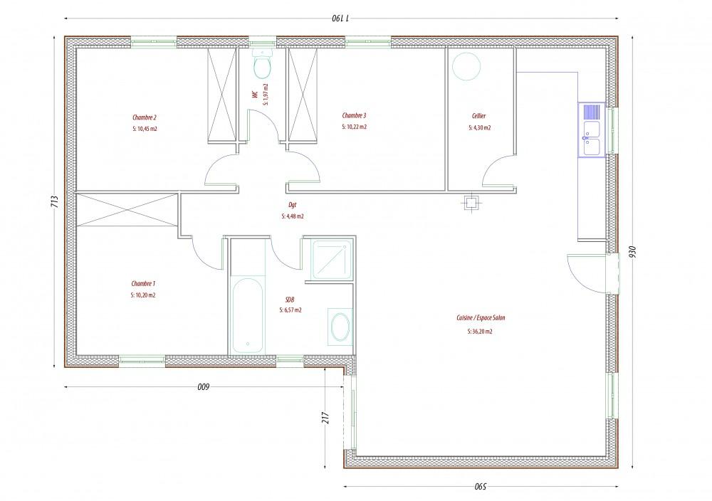 PC LABOUTADE-AUBY maison perigord maisons bois, constructeur de maisons individuelles, maison en bois, rt 2012