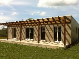 Plan Maison bois DRYADE