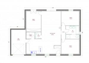 Plan maison bois Kiwi