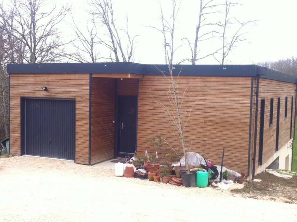 Photo 2 Maisons Frégate constructeur de maisons bois en Dordogne et Corrèze 24 maison BBC et RT 2012