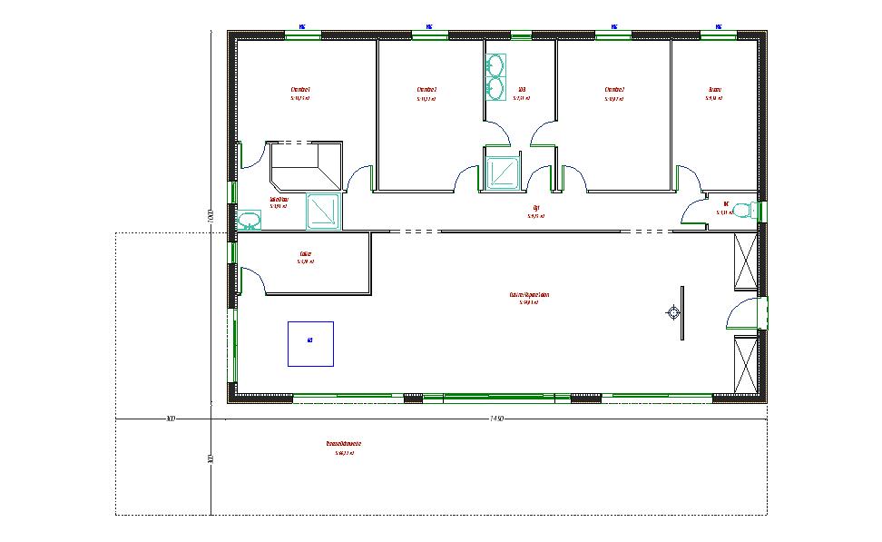 Plan Maison Bois Greuez - Périgord Maisons Bois
