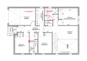 Plan maison bois Frégate