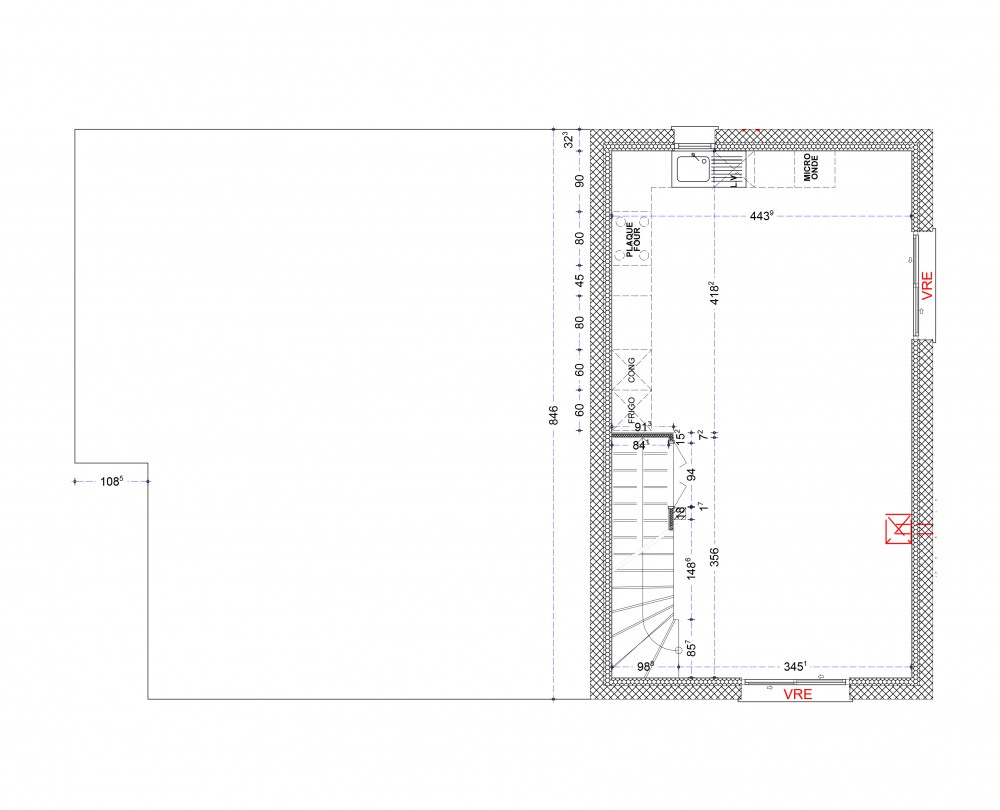 Allplan: 13 MILLET plan Constructeur-maisons-individuelle-terrain-le-change-proche-tous-commerces1