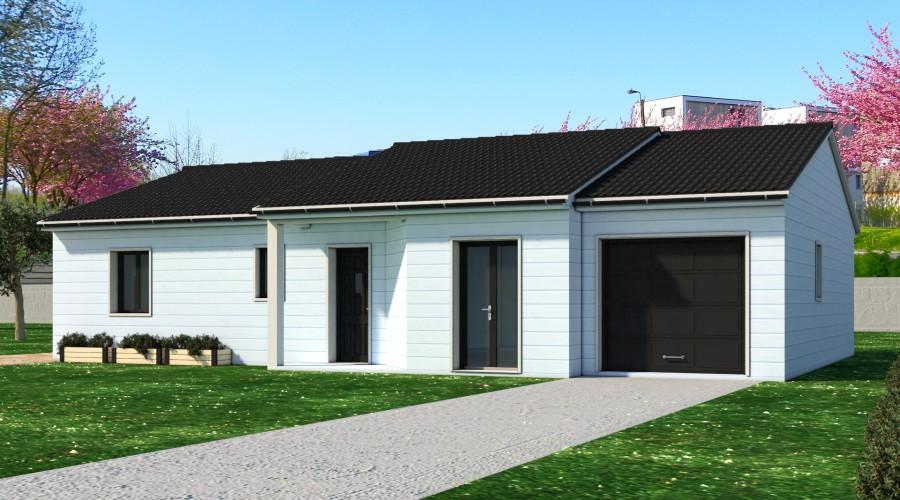 Maison bois Ringuet Bois Bleuet