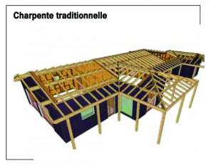 Techniques de construction charpente traditionnelle