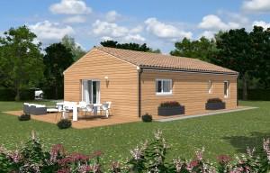 Proissans - Terrain à vendre - maison à vendre - - CONDOR A5 - PMB - Toiture 35 - 2 pans