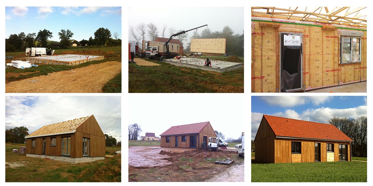 chantier périgord maison bois